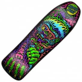 Johnson Beach Wolf Custom Shape Skateboard Deck 9.35