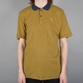 Johnston Polo Shirt - Navy/Gold