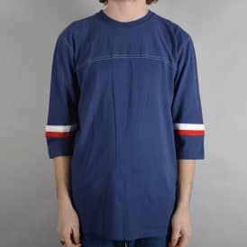 Jonah 3/4 Sleeve T-Shirt - Washed Navy