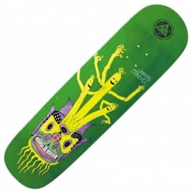 Jordan Sanchez Air Dancer On Nibiru (Green Stain) Skateboard Deck 8.75