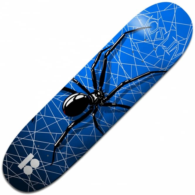 Plan B Skateboards Joslin Crawler Black Ice Skateboard Deck 8.25