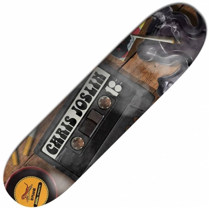Plan B Skateboards Joslin Mixtape BLK ICE Skateboard Deck 8.375