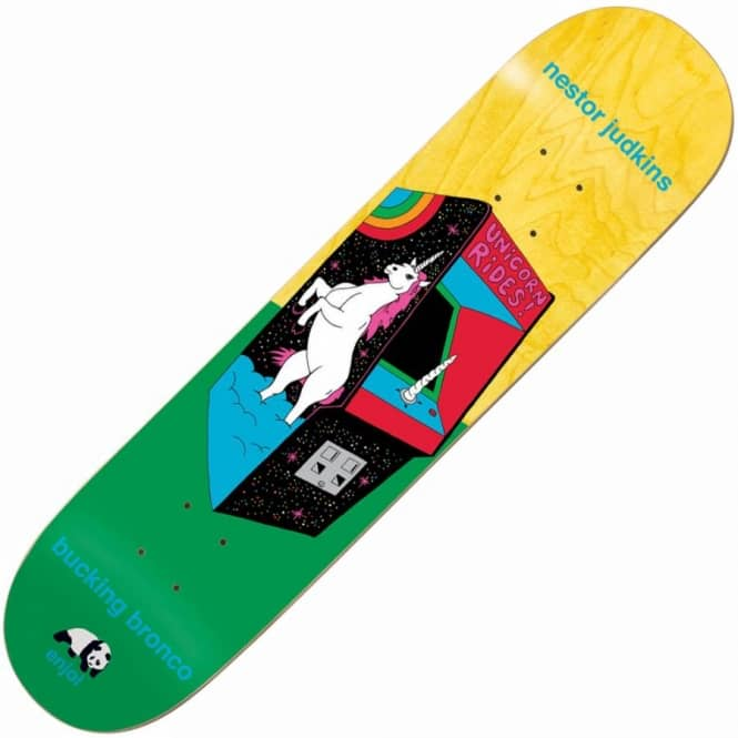Enjoi Skateboards Judkins Arcade Machines Skateboard Deck 8.25