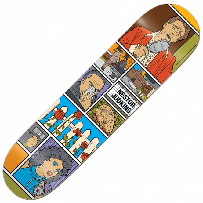 Enjoi Skateboards Judkins Movie Night Impact Light Skateboard Deck 8.1''