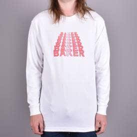 12612e2e96e Kansas Long Sleeve Skate T-Shirt - White