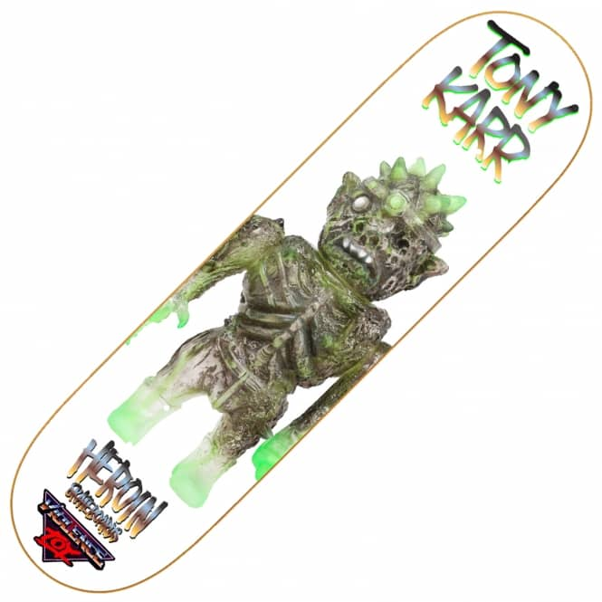 Heroin Skateboards Karr Violence Toy Skateboard Deck 8.25