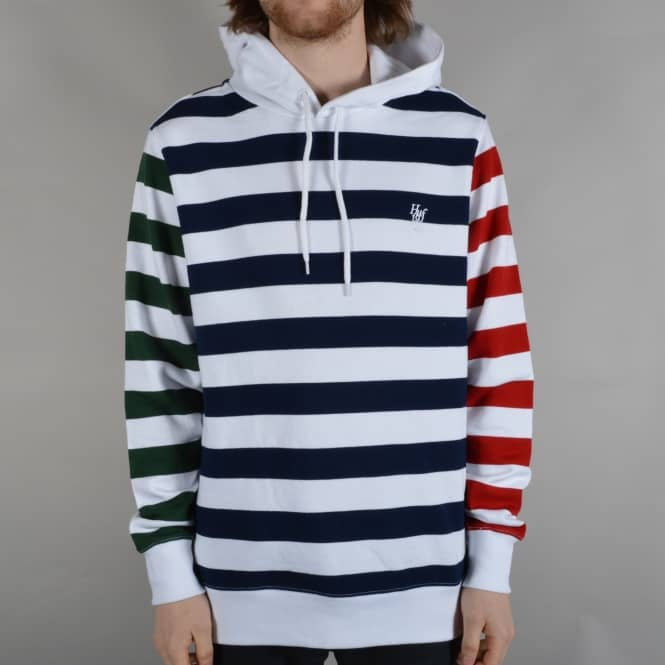 HUF Kennedy Pulllover Hoodie - White