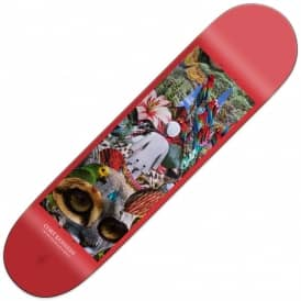 Kennedy Raised By The Jungle Skateboard Deck 8.375