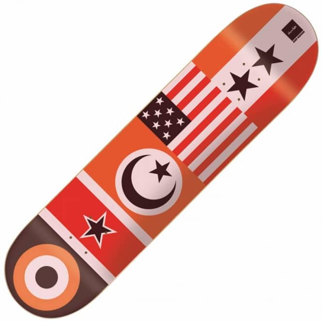 Chocolate Skateboards Kenny Flags Skateboard Deck 8.125''