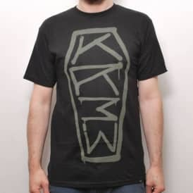 Kr3w Koffin Skate T-Shirt Black