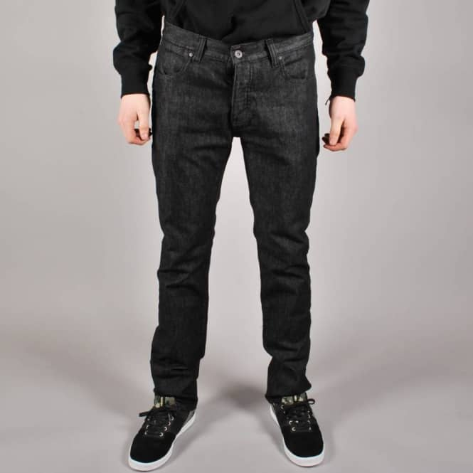 Kr3w Kr3w K Slim Denim - Dark Black/Dark Black