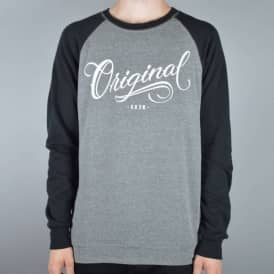 Los Originales Raglan Sweater - Grey/Heather