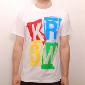 Kr3w Ransom Regular Skate T-Shirt White