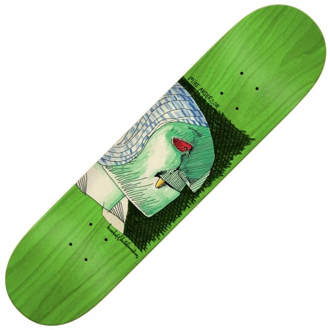 Krooked Skateboards Anderson Hyde Skateboard Deck 8.06