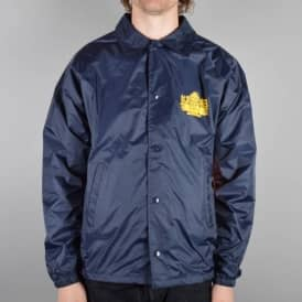 Krooked Skateboards Arketype Coach Jacket - Navy