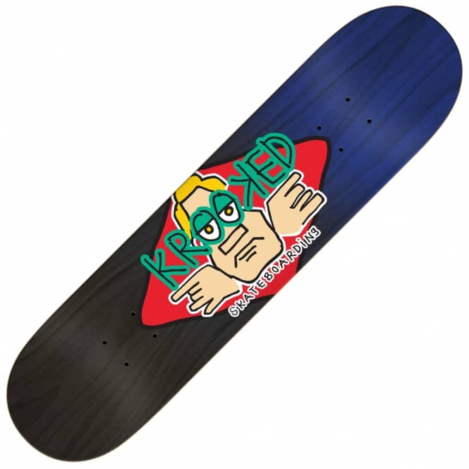 Krooked Skateboards Arketype Fade M Skateboard Deck 8.25