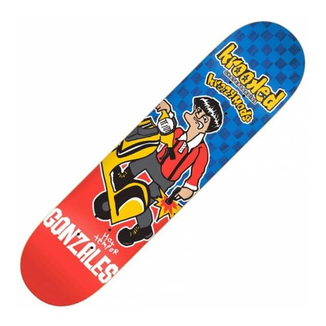 Krooked Skateboards Gonz Kwadrophenia Skateboard Deck 8.38''