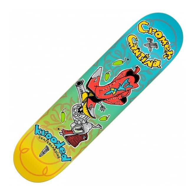 Krooked Skateboards Krooked Cromer Cantina Skateboard Deck 8.06''