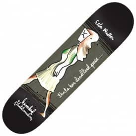 Krooked Skateboards Sebo Deadly Pose (Full Shape) Skateboard Deck 8.38""