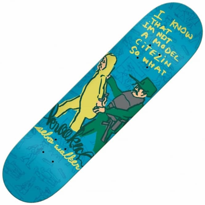 Krooked Skateboards Sebo In Trouble Skateboard Deck 8.25""