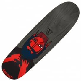 Krooked Skateboards Time Will Tell Pigmat Shape Skateboard Deck 9.3""