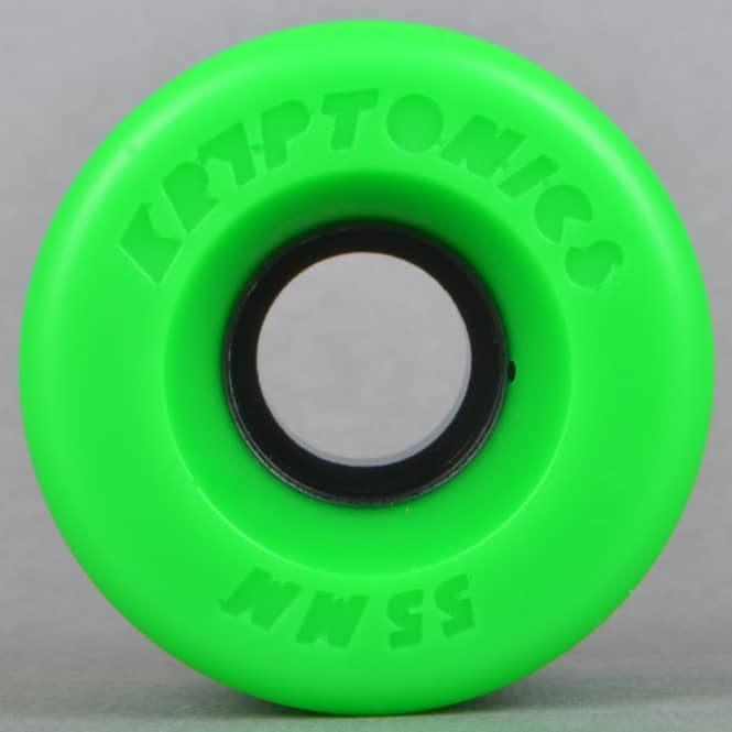 Kryptonics Star Trac Green 86A Skateboard Wheels 55mm