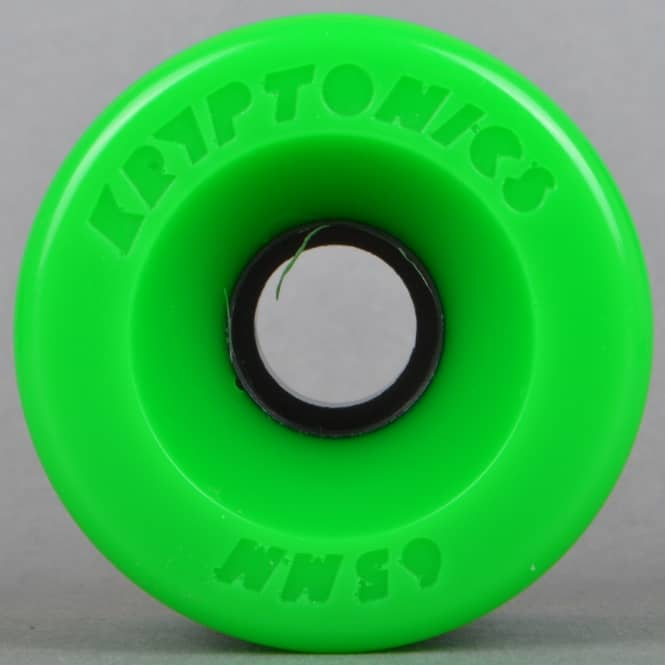 Kryptonics Star Trac Green 86A Skateboard Wheels 65mm