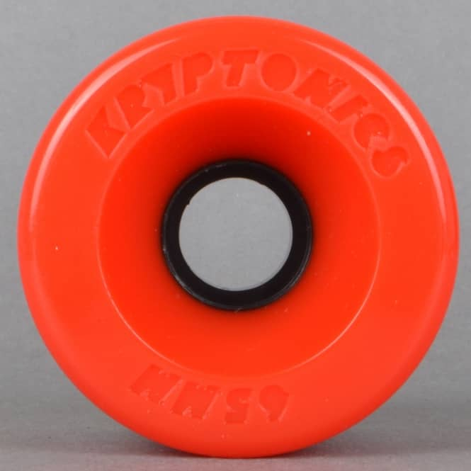 Kryptonics Star Trac Red 78A Skateboard Wheels 65mm