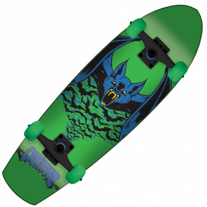 Creature Skateboards Kustom Bat Cruiser Skateboard 8.8""