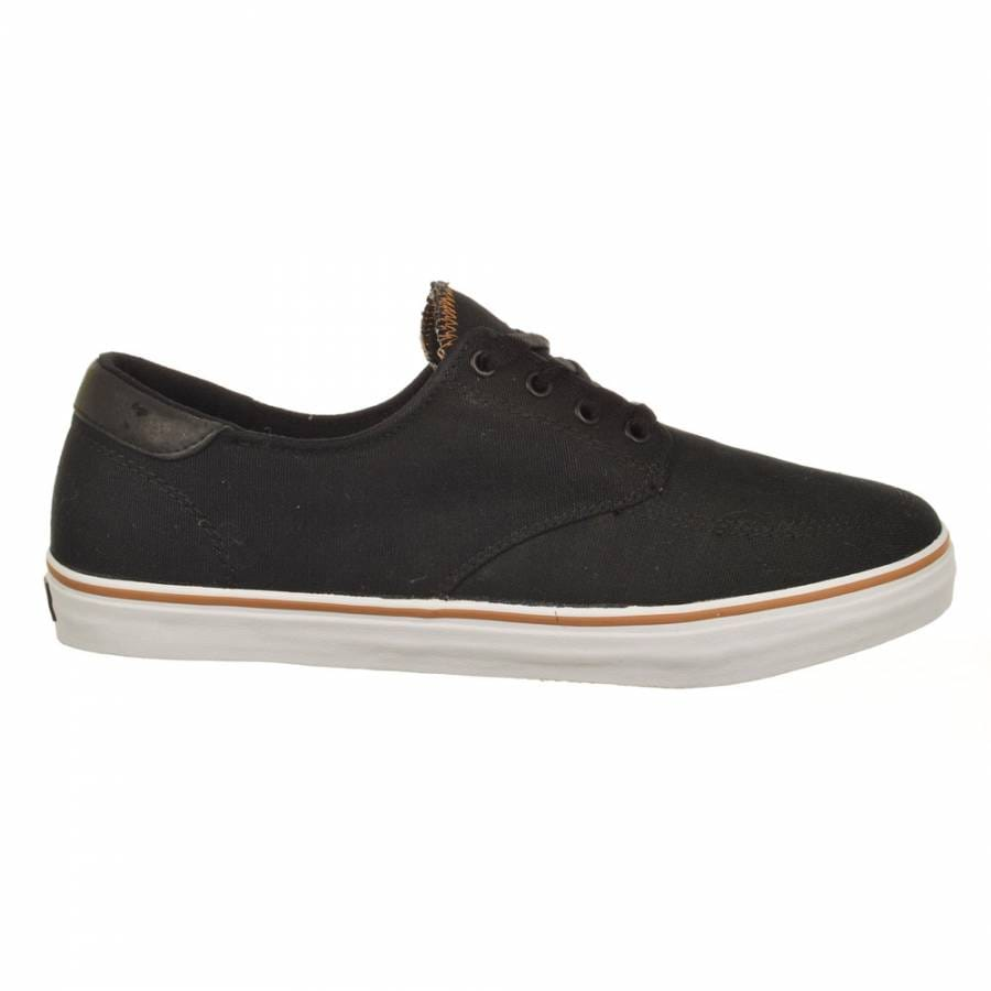 lakai lakai belmont skate shoes black canvas lakai