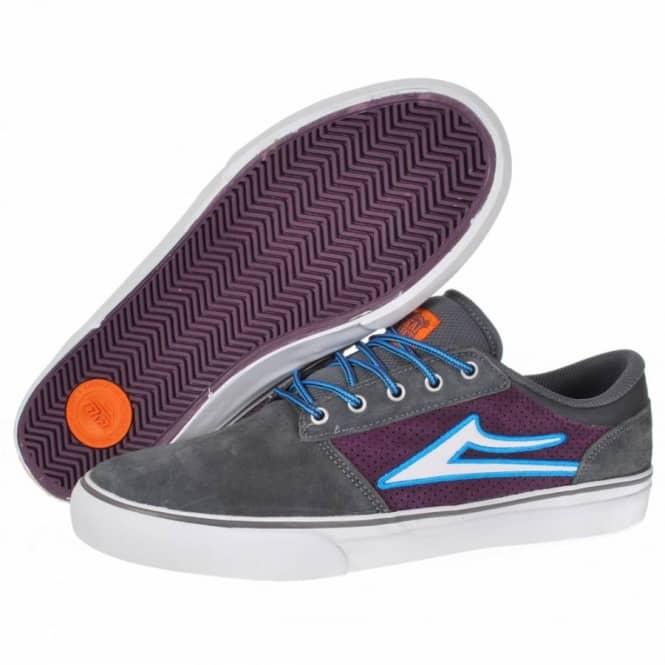 Lakai Brea Skate Shoes - Grey/Purple