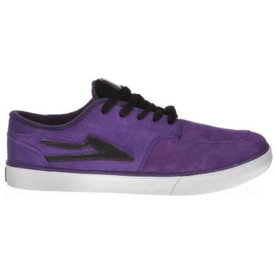 lakai carroll 5 skate shoes purple suede mens skate