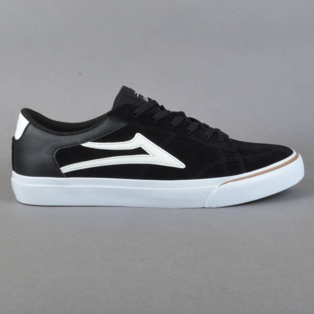 Skate shoes pics - Ellis Skate Shoes Black White Suede