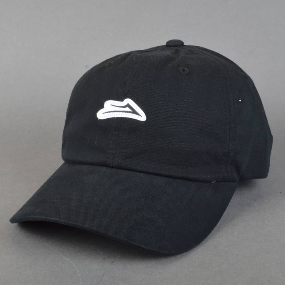 83b01b67 Lakai Flare Dad Cap - Black - SKATE CLOTHING from Native Skate Store UK