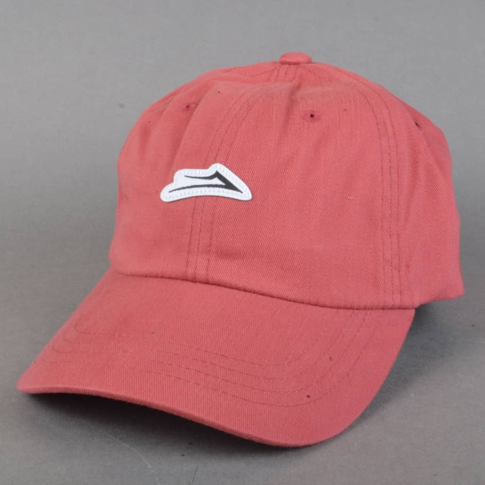 Lakai Flare Dad Cap - Red - SKATE CLOTHING from Native Skate Store UK db346a2b1fd