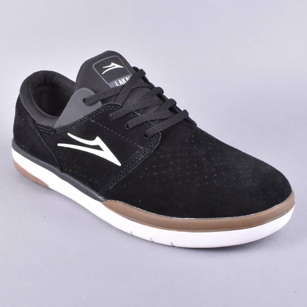 ab35fc7f05c Lakai Fremont Skate Shoes - Black Grey Suede - SKATE SHOES from ...