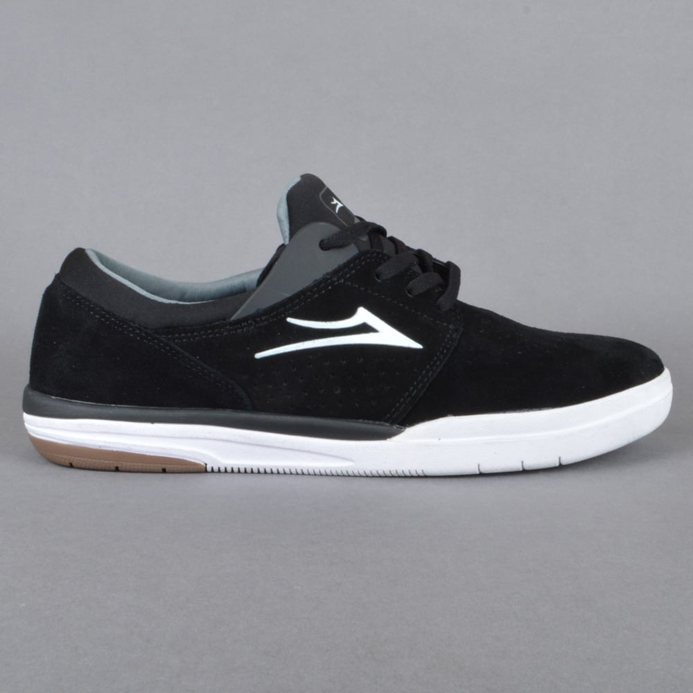 lakai fremont skate shoes black suede mens skate shoes