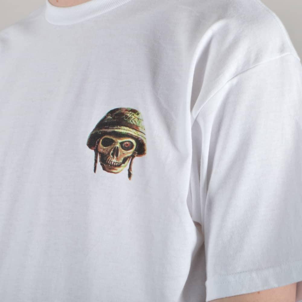 Lakai Full Metal Skate T-Shirt - White - SKATE CLOTHING from Native ... bf47a8df2