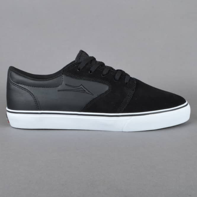 Lakai Fura Skate Shoes - Black Suede 16