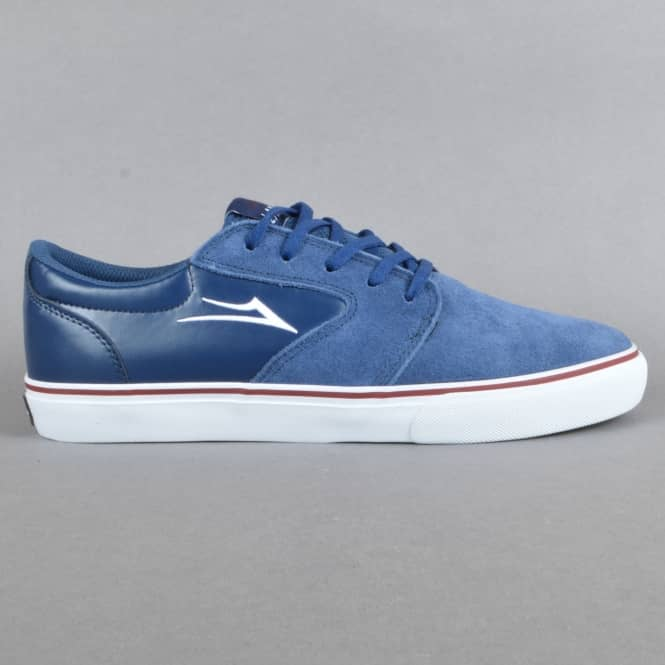 Lakai Fura Skate Shoes - Navy Suede