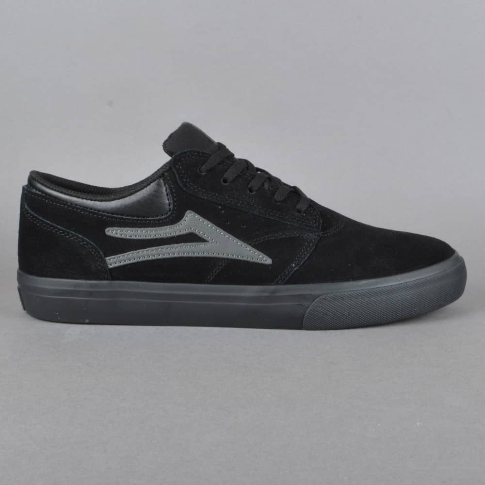 c139d0a7cde Lakai Griffin Skate Shoes - Black Black Suede - SKATE SHOES from ...