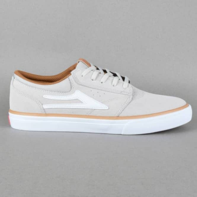 Lakai Griffin Skate Shoes - Cream Suede
