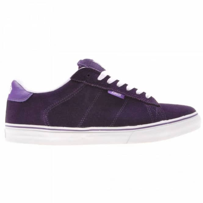 lakai howard select purple suede mens skate shoes from