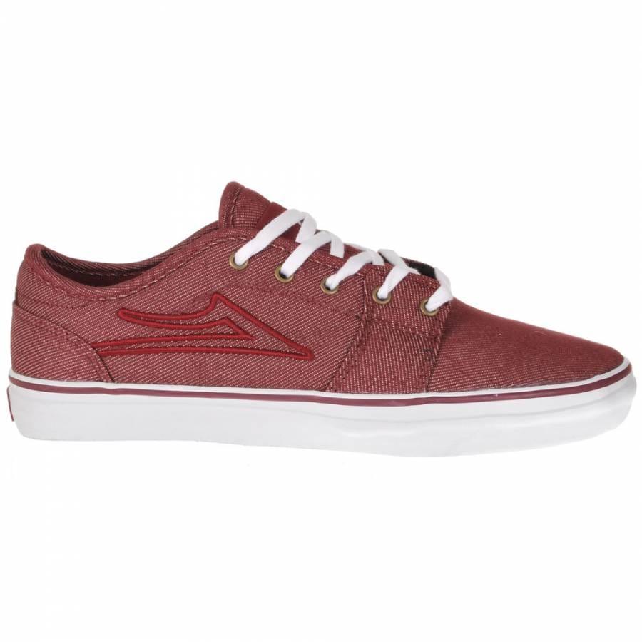 Lakai Pico Skate Shoes Green White Suede