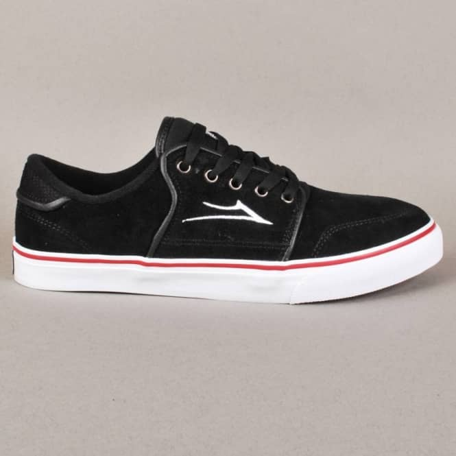Lakai Lakai Carlo Skate Shoes - Black Suede (H13)