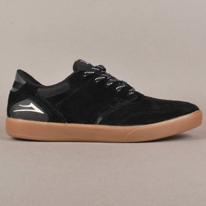 Lakai Lakai Guy XLK Skate Shoes - Black/Gum Suede