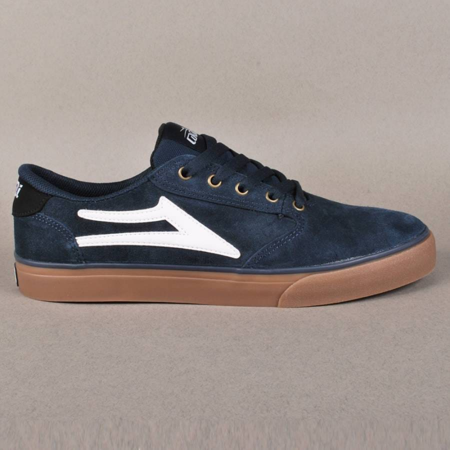 lakai lakai pico skate shoes navy suede lakai from