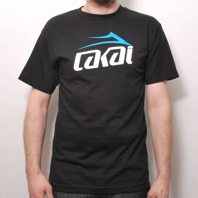 c56790614c Lakai Two Tone 2 Skate T-Shirt Black - Skate T-Shirts from Native ...