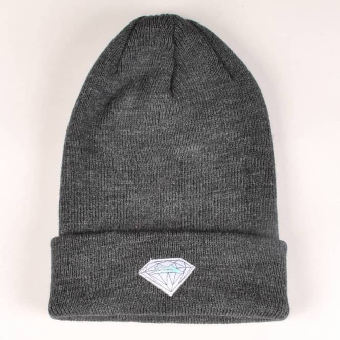 Lakai Lakai x Diamond Fold Up Beanie - Black Charcoal