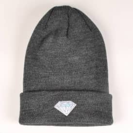 Lakai x Diamond Fold Up Beanie - Black Charcoal